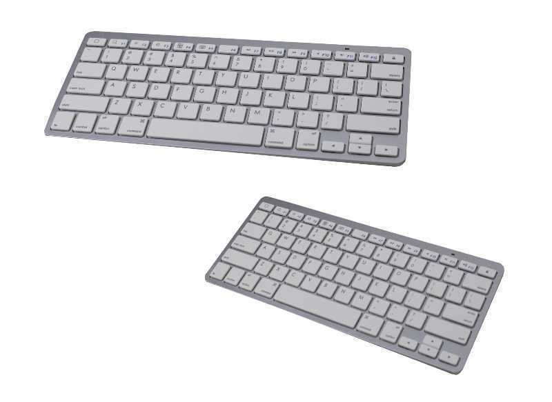 Bluetooth Wireless New IPAD Ipad2 APPLE Mac Macbook Iphone Thin Keyboard Li Batt